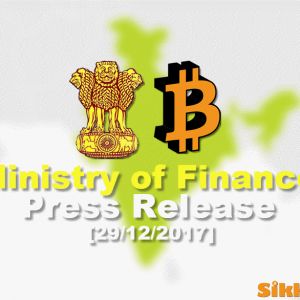 Ministry of Finance Press Release on Bitcoin in Hindi